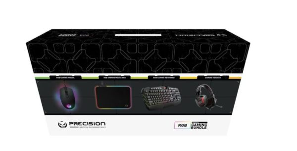 PRECISION GAMING BUNDLE, HEADPHONE, KEYBOARD, MOUSE AND MOUSE MAT