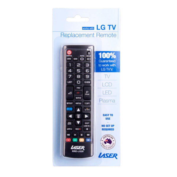 LASER LG TV REMOTE CONTROL REPLACEMENT RRE-LG28